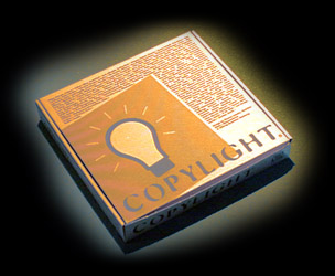 Copylight-Lamp with package, a nice present